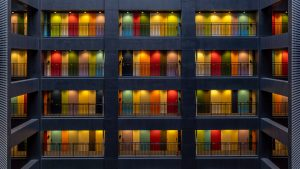 Apartment block
